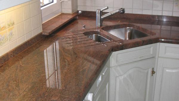 Küchenarbeitsplatte stein  Küchenarbeitsplatten von Natursteine Keck in Zerbst